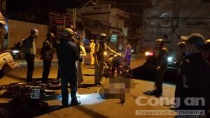 Tai nạn ở ngã tư Dầu Giây, một người bị xe tải cán chết