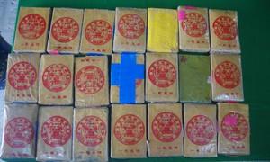 """Người dân ở Thừa Thiên Huế lại """"nhặt"""" được 21 bánh nghi là heroin"""