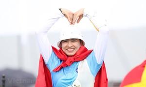 SEA Games 30: Cung thủ Lộc Thị Đào giành hat-trick HCV