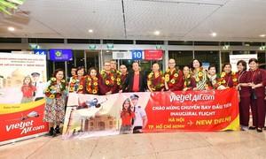 Vietjet khai trương hai đường bay từ Việt Nam tới New Delhi (Ấn Độ)