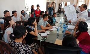 Hàng trăm người điêu đứng khi góp vốn mua nền tại dự án Nam - Nam Sài Gòn