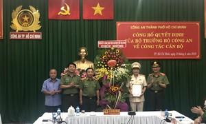 Bổ nhiệm Đại tá Nguyễn Sỹ Quang làm Phó giám đốc Công an TP.HCM