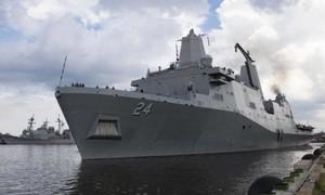 Phát hiện camera quay lén trong phòng tắm nữ trên tàu hải quân Mỹ