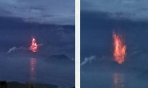 Núi lửa phun trào, trường học ở thủ đô Philippines đóng cửa