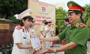 Công an TP.HCM: Tuyên dương 30 đảng viên trẻ xuất sắc