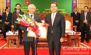 Campuchia tặng Huân chương cho lãnh đạo Công an Gia Lai và Kon Tum