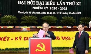 Đã bầu 61 người vào Ban chấp hành Đảng bộ TPHCM nhiệm kỳ 2020 - 2025