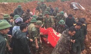 Cập nhật: Tìm thấy 14/22 thi thể vụ sạt lở ở Quảng Trị, trực thăng đã sẵn sàng