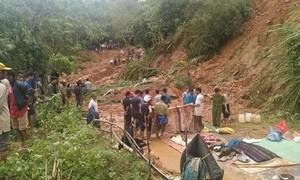 Quảng Trị: Tìm thấy 6 thi thể trong một gia đình bị sạt lở đất vùi lấp