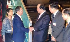 Thủ tướng Nhật Bản Suga Yoshihide bắt đầu thăm chính thức Việt Nam