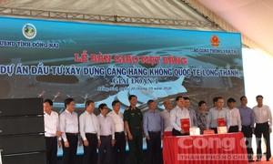 Đồng Nai bàn giao 2.600 hecta đất sân bay Long Thành cho Bộ GTVT