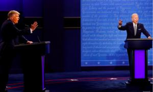 """Buổi tranh luận cuối cùng của Trump - Biden sẽ có """"nút tắt tiếng"""""""