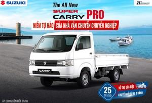 """Tại sao """"Vua xe tải nhẹ"""" Super Carry Pro của Suzuki được tin dùng?"""