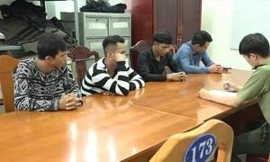 Nhóm thanh niên đòi bảo kê công trường cao tốc Vĩnh Hảo - Phan Thiết