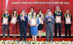 Chubb Life Việt Nam được vinh danh trong Top 500 doanh nghiệp