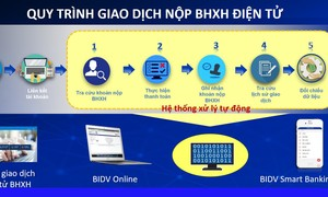 Người dân, DN chỉ cần soạn tin nhắn là đóng được tiền BHXH, BHYT