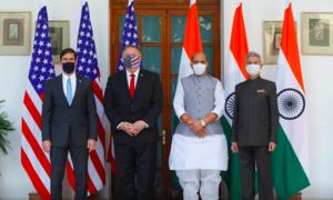 Mỹ - Ấn Độ ký hiệp ước quân sự song phương đối phó Trung Quốc