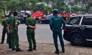 Náo loạn tại phiên xử vụ tranh chấp đấu giá đất dự án KDC Hòa Lân