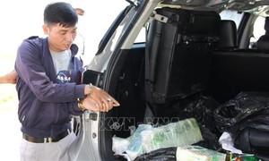 Thanh niên lái ôtô vận chuyển 17kg ma túy từ Campuchia vào Việt Nam