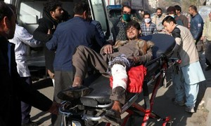 Nhiều người chết sau loạt tên lửa nã vào khu dân cư ở thủ đô Afghanistan