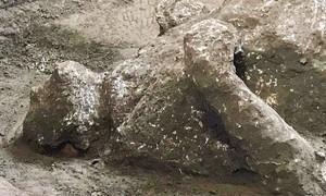 """Phát hiện thi hài 2 người còn nguyên do được nham thạch núi lửa """"bảo vệ"""""""