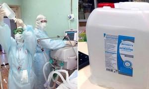7 người ở Nga thiệt mạng sau khi uống nước rửa tay sát khuẩn