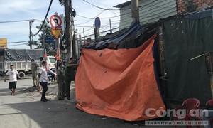 Người đàn ông chết trong căn chòi ở Sài Gòn, bên cạnh mẩu giấy ghi mình bị đánh