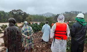 4 du khách bị lũ cuốn trôi ở Lâm Đồng, 2 người đang mất tích