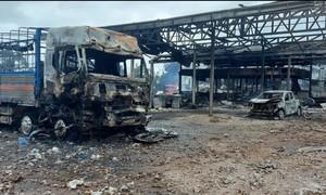 Bốn người Việt bỏng rất nặng trong vụ cháy nổ tại Lào