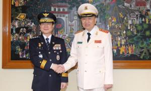 Bộ Công an Việt Nam và Cảnh sát Hàn Quốc: Tăng cường hợp tác phòng chống tội phạm