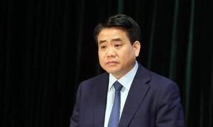 Đề nghị Bộ Chính trị kỷ luật ông Nguyễn Đức Chung