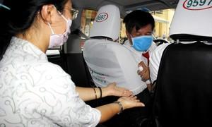 Taxi Vinasun phòng dịch COVID-19 cho khách và tài xế