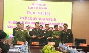 Cụm thi đua số 1 Bộ Công an quyết tâm hoàn thành xuất sắc nhiệm vụ