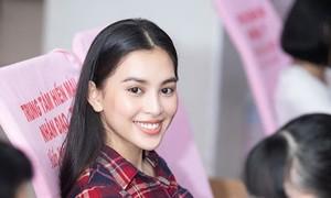 Hoa hậu Tiểu Vy tham gia hiến máu