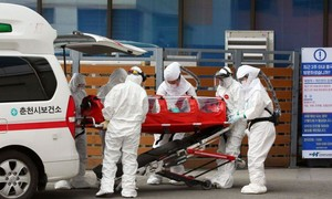 Hàn Quốc có ca thứ 4 tử vong vì nCOV, gần 600 người nhiễm