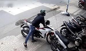 Công an Q.Bình Tân tìm chủ sở hữu xe Vario trong một vụ trộm
