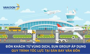 Quy trình tốc lực đón khách từ vùng dịch về sân bay Vân Đồn