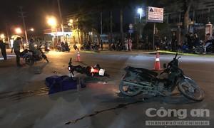 Bình Dương: Tai nạn lúc băng qua đường,  3 người thương vong