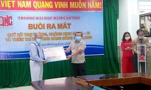 Đại học Nam Cần Thơ ra mắt Quỹ phòng chống Covid-19 và thiên tai ĐBSCL
