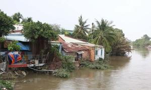 TPHCM: Đẩy nhanh tiến độ các dự án kè chống sạt lở sông rạch