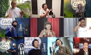Các nghệ sĩ hài cùng ca sĩ Tuấn Hưng ra mắt ca khúc đẩy lùi Covid-19