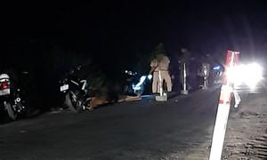 Tai nạn chết người tại đoạn đường đang thi công, không có đèn