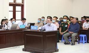 """Bị cáo Nguyễn Văn Hiến lãnh 4 năm tù, Út """"trọc"""" 20 năm tù"""