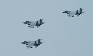 Không quân Nhật trước áp lực bay chặn chiến đấu cơ Trung Quốc