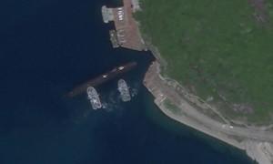 Xuất hiện ảnh vệ tinh tàu ngầm Trung Quốc sử dụng căn cứ ở Hải Nam