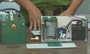 Chế tạo thiết bị di động phục vụ khám nghiệm hiện trường