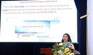 """Ra mắt trang Facebook """"Tuyên giáo Mặt trận Thành phố Hồ Chí Minh"""""""