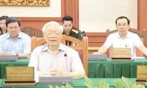43/67 đảng bộ báo cáo Bộ chính trị công tác chuẩn bị Đại hội
