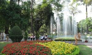 Chiều  công viên