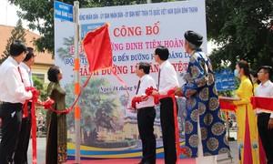TPHCM: Chính thức gắn bảng tên đường Lê Văn Duyệt